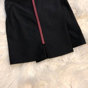 Nike Pants - NIKE BLACK/PINK XS DRI-FIT RUNNING CAPRI PANTS